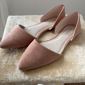 Old Navy Pink Suede Flats